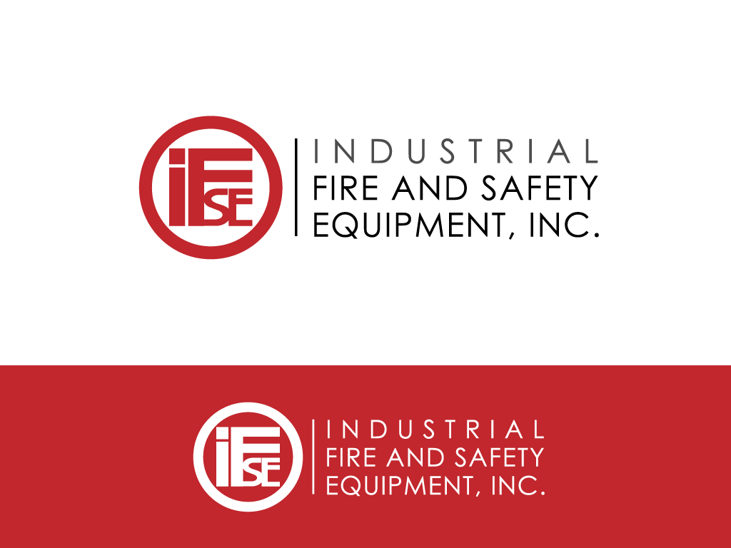 Logo Design by imtan2x - Entry No. 179 in the Logo Design Contest New Logo Design for Industrial Fire and Safety Equipment, Inc..
