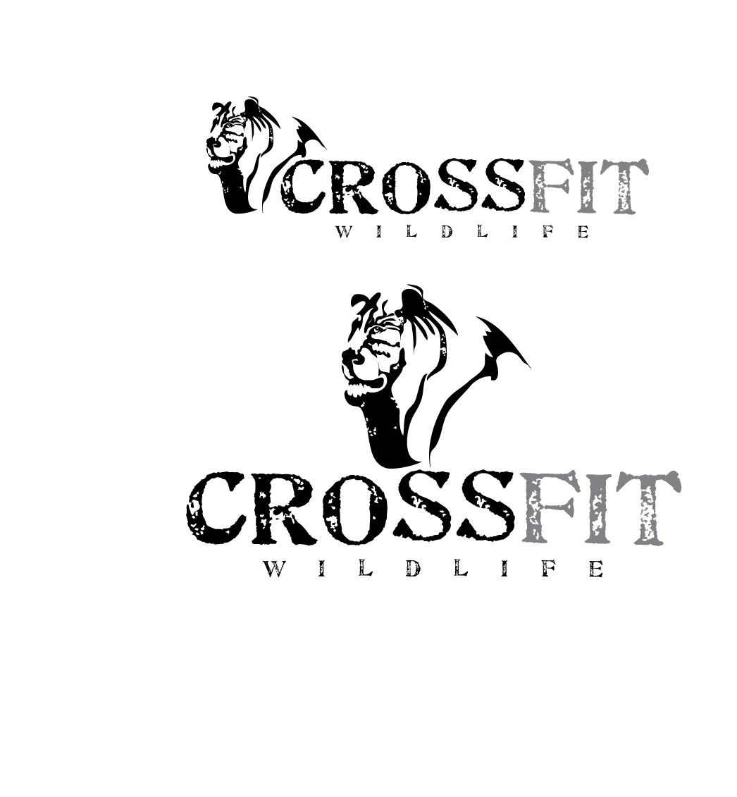 Logo Design by stormbighit - Entry No. 6 in the Logo Design Contest Unique Logo Design Wanted for CrossFit Wildlife.