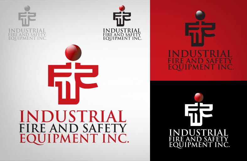 Logo Design by iingjember - Entry No. 182 in the Logo Design Contest New Logo Design for Industrial Fire and Safety Equipment, Inc..
