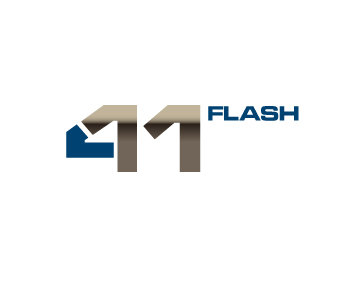 Logo Design by designaurus - Entry No. 1 in the Logo Design Contest 411Flash Logo Design.