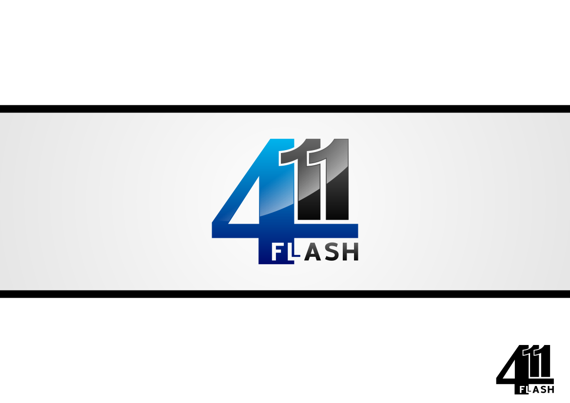 Logo Design by lucifer - Entry No. 3 in the Logo Design Contest 411Flash Logo Design.