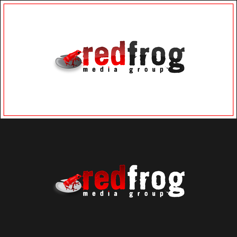 Logo Design by trav - Entry No. 32 in the Logo Design Contest New Logo Design for Red Frog Media Group.
