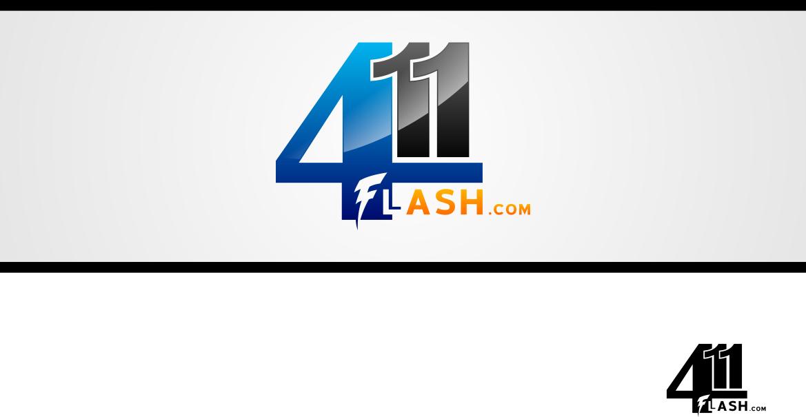 Logo Design by lucifer - Entry No. 7 in the Logo Design Contest 411Flash Logo Design.