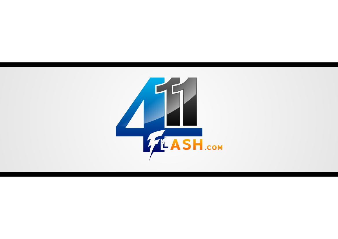 Logo Design by lucifer - Entry No. 8 in the Logo Design Contest 411Flash Logo Design.