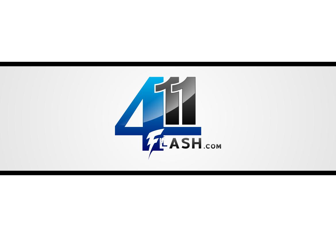 Logo Design by lucifer - Entry No. 10 in the Logo Design Contest 411Flash Logo Design.