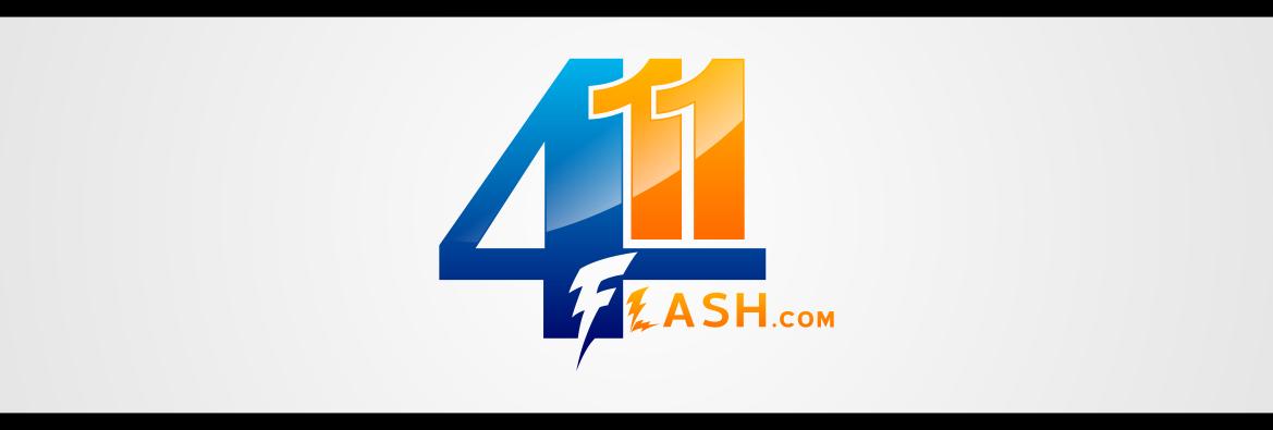 Logo Design by lucifer - Entry No. 13 in the Logo Design Contest 411Flash Logo Design.