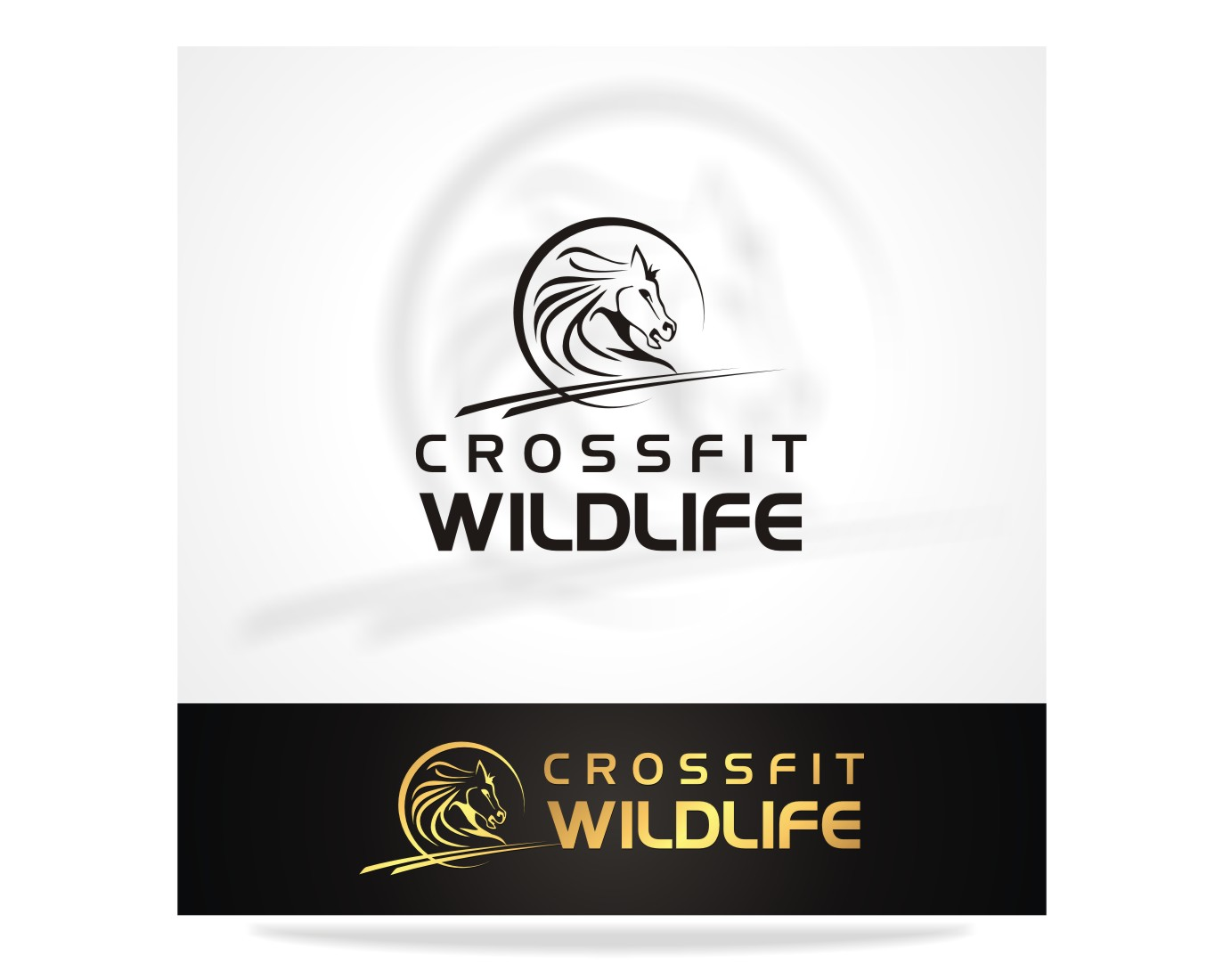 Logo Design by Pay_mo - Entry No. 10 in the Logo Design Contest Unique Logo Design Wanted for CrossFit Wildlife.