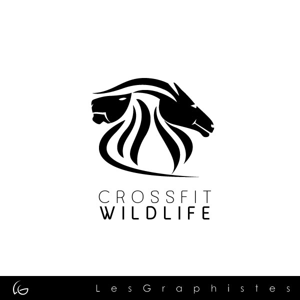 Logo Design by Les-Graphistes - Entry No. 12 in the Logo Design Contest Unique Logo Design Wanted for CrossFit Wildlife.