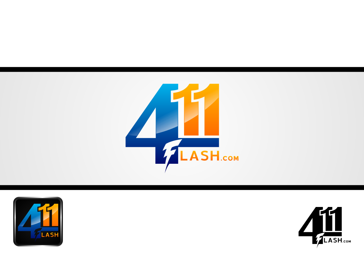 Logo Design by lucifer - Entry No. 25 in the Logo Design Contest 411Flash Logo Design.