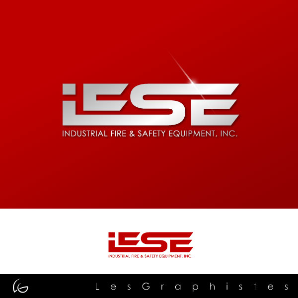 Logo Design by Les-Graphistes - Entry No. 272 in the Logo Design Contest New Logo Design for Industrial Fire and Safety Equipment, Inc..