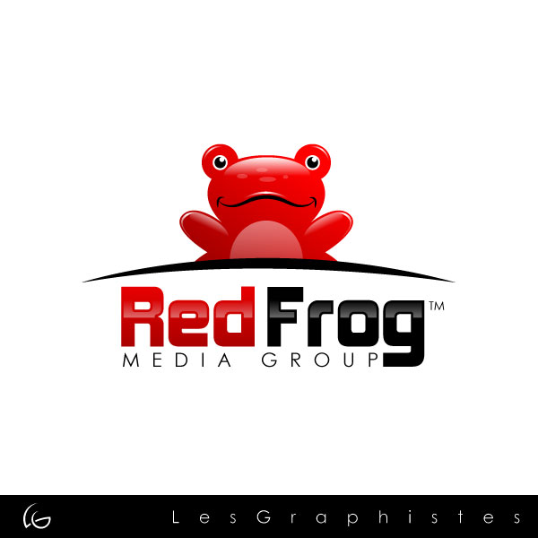 Logo Design by Les-Graphistes - Entry No. 35 in the Logo Design Contest New Logo Design for Red Frog Media Group.