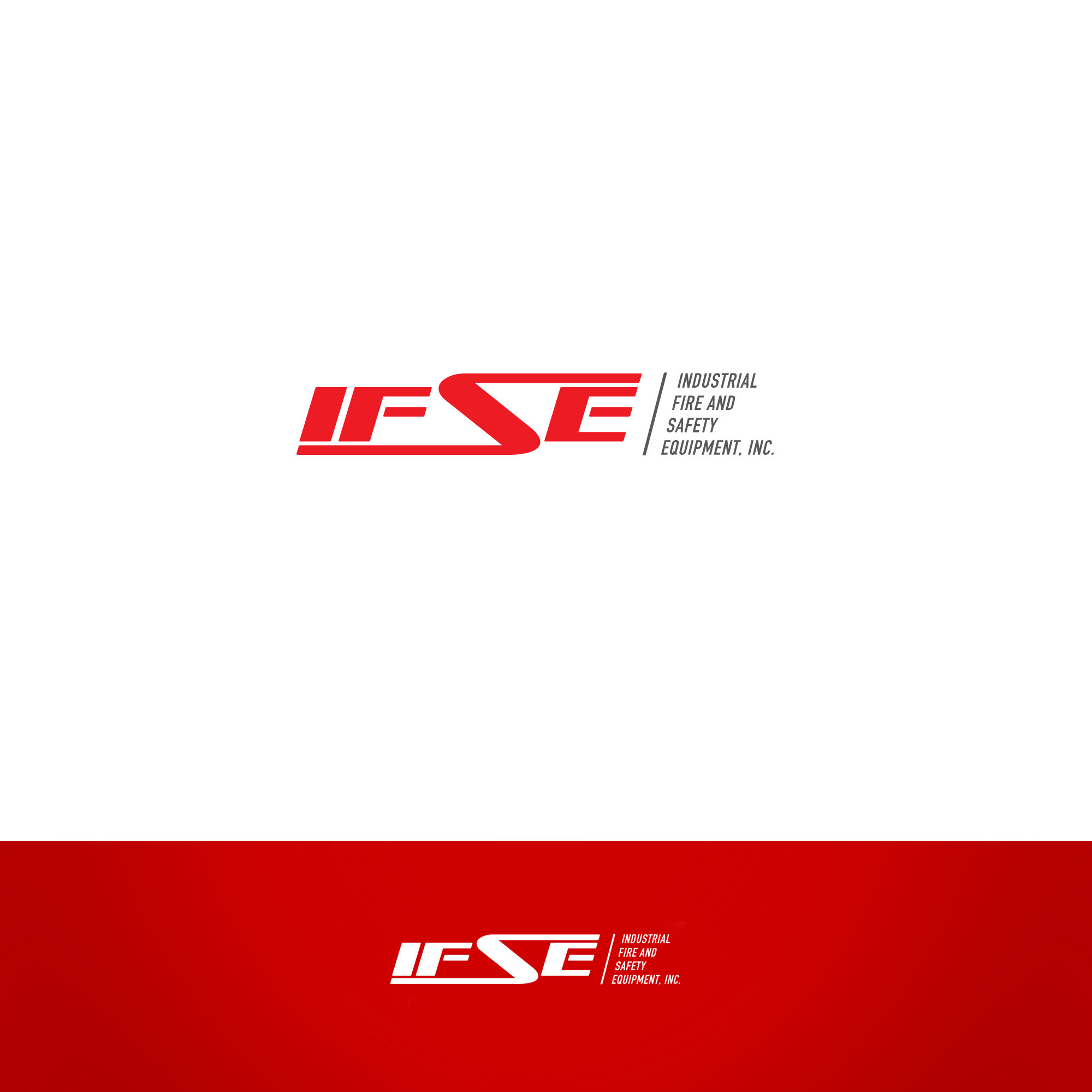 Logo Design by tanganpanas - Entry No. 279 in the Logo Design Contest New Logo Design for Industrial Fire and Safety Equipment, Inc..