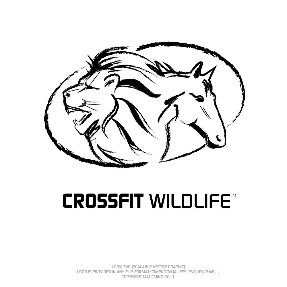 Logo Design by Private User - Entry No. 20 in the Logo Design Contest Unique Logo Design Wanted for CrossFit Wildlife.