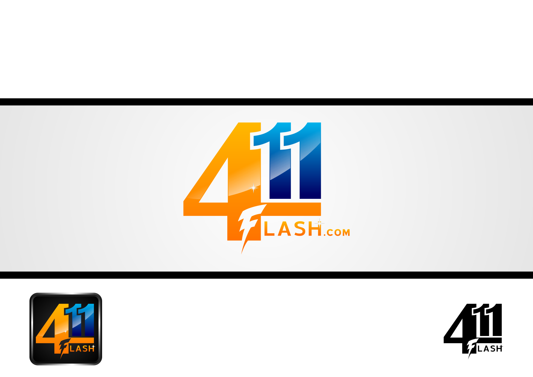 Logo Design by lucifer - Entry No. 35 in the Logo Design Contest 411Flash Logo Design.