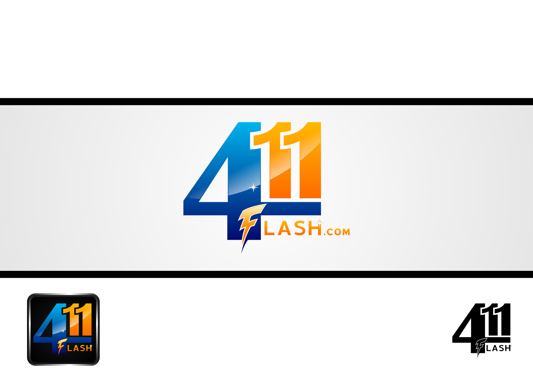 Logo Design by lucifer - Entry No. 36 in the Logo Design Contest 411Flash Logo Design.