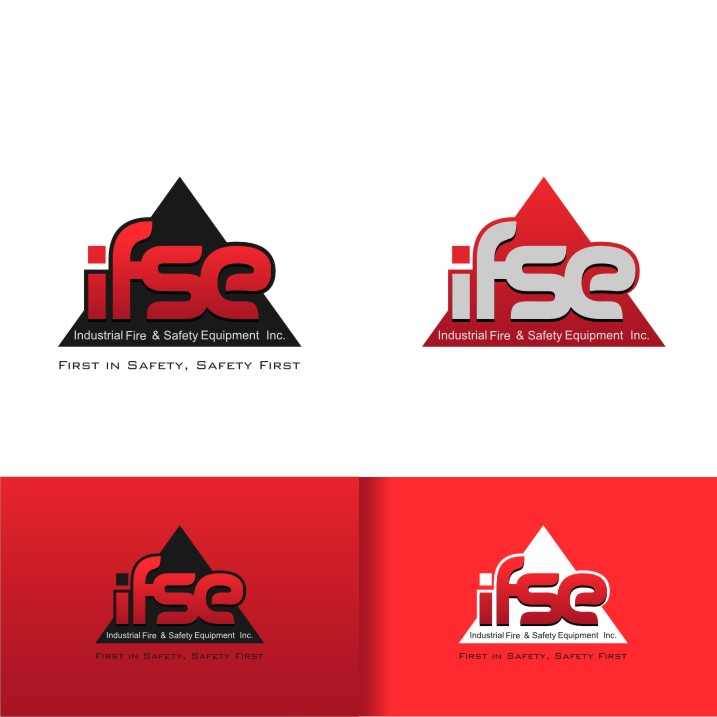 Logo Design by graphicleaf - Entry No. 295 in the Logo Design Contest New Logo Design for Industrial Fire and Safety Equipment, Inc..