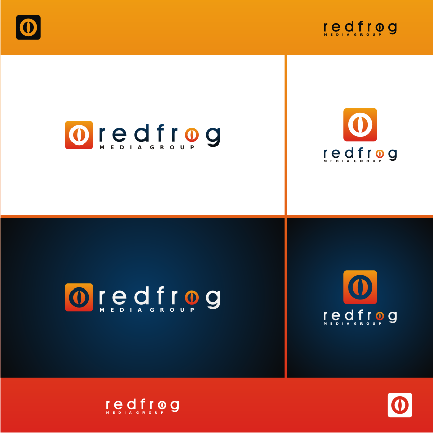 Logo Design by FlixDesign - Entry No. 36 in the Logo Design Contest New Logo Design for Red Frog Media Group.