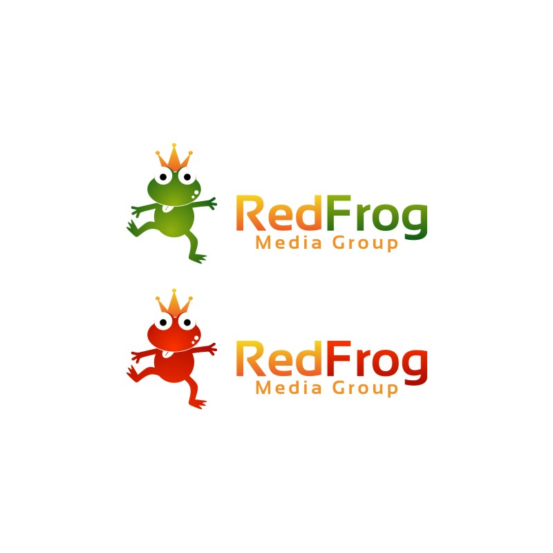 Logo Design by untung - Entry No. 38 in the Logo Design Contest New Logo Design for Red Frog Media Group.