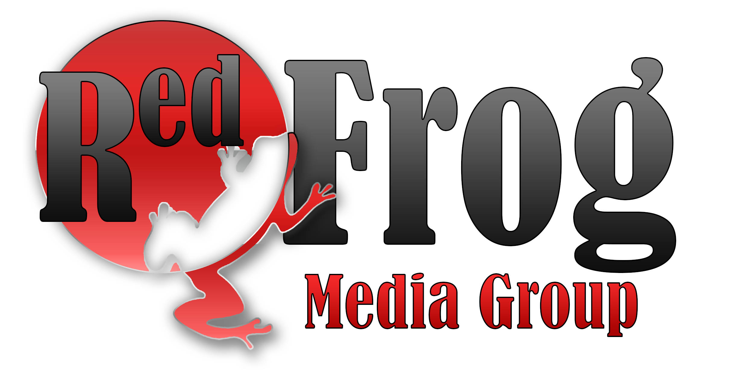 Logo Design by stammy - Entry No. 39 in the Logo Design Contest New Logo Design for Red Frog Media Group.