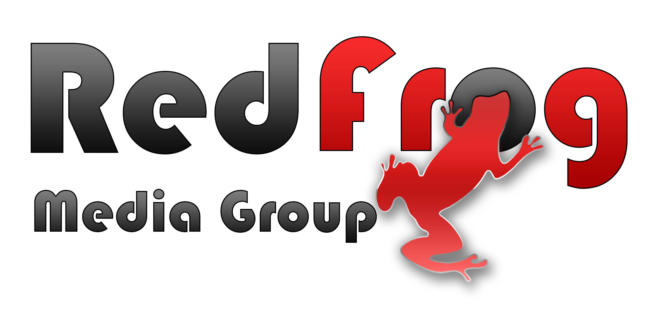 Logo Design by stammy - Entry No. 40 in the Logo Design Contest New Logo Design for Red Frog Media Group.