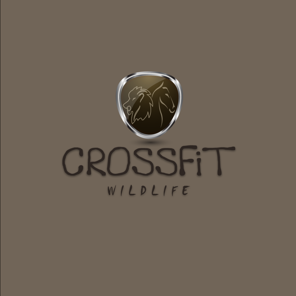 Logo Design by moonflower - Entry No. 27 in the Logo Design Contest Unique Logo Design Wanted for CrossFit Wildlife.