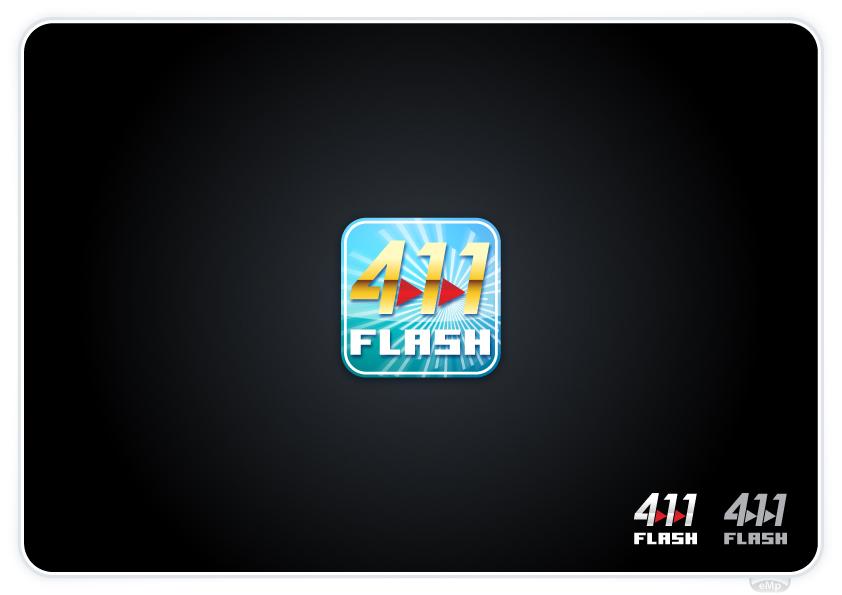Logo Design by eMp - Entry No. 55 in the Logo Design Contest 411Flash Logo Design.