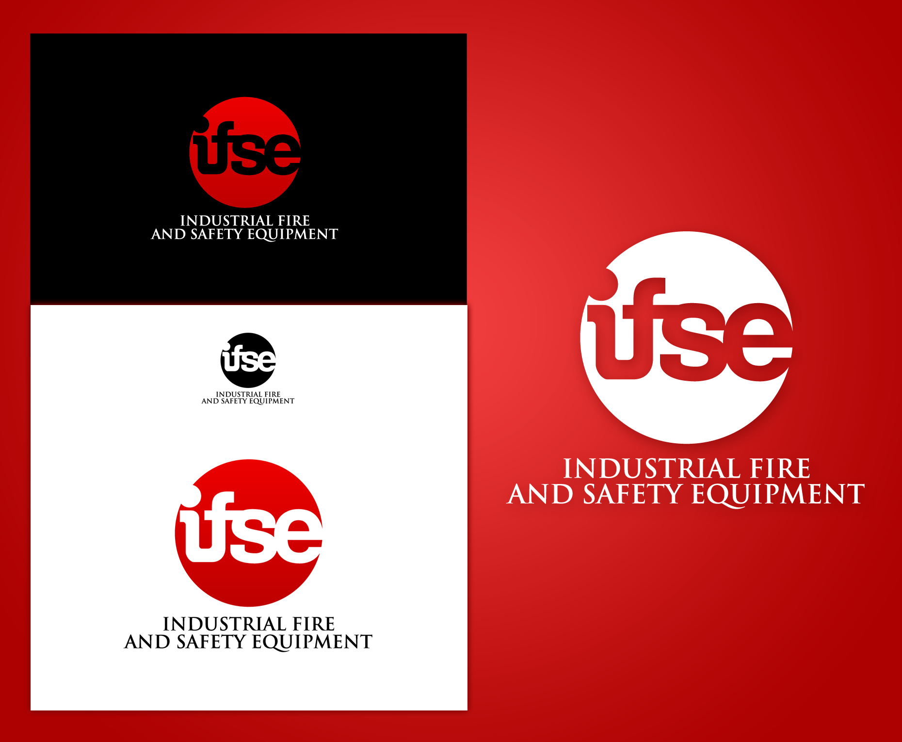 Logo Design by Yans - Entry No. 308 in the Logo Design Contest New Logo Design for Industrial Fire and Safety Equipment, Inc..
