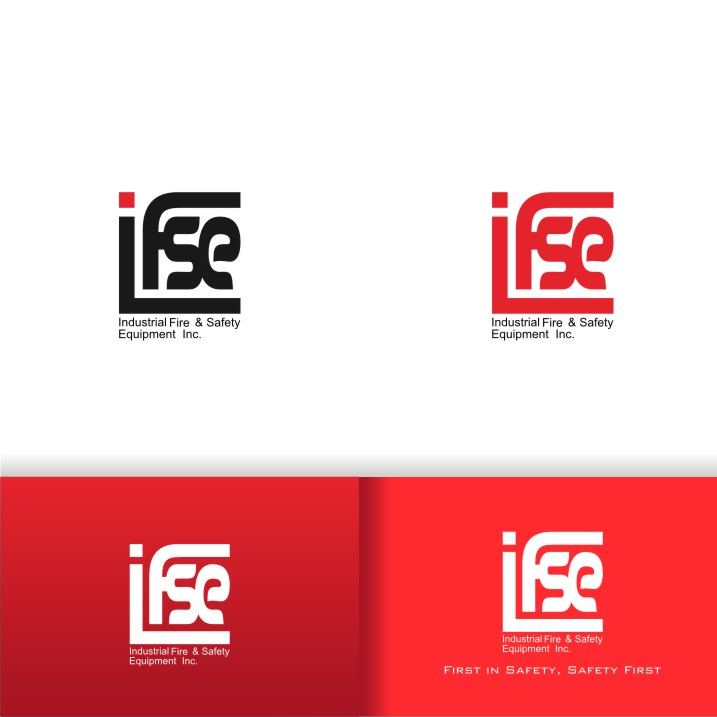 Logo Design by graphicleaf - Entry No. 309 in the Logo Design Contest New Logo Design for Industrial Fire and Safety Equipment, Inc..