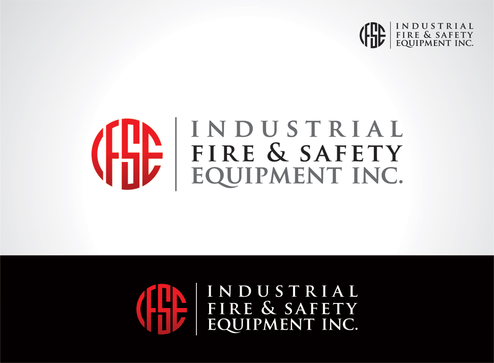 Logo Design by vdhadse - Entry No. 348 in the Logo Design Contest New Logo Design for Industrial Fire and Safety Equipment, Inc..