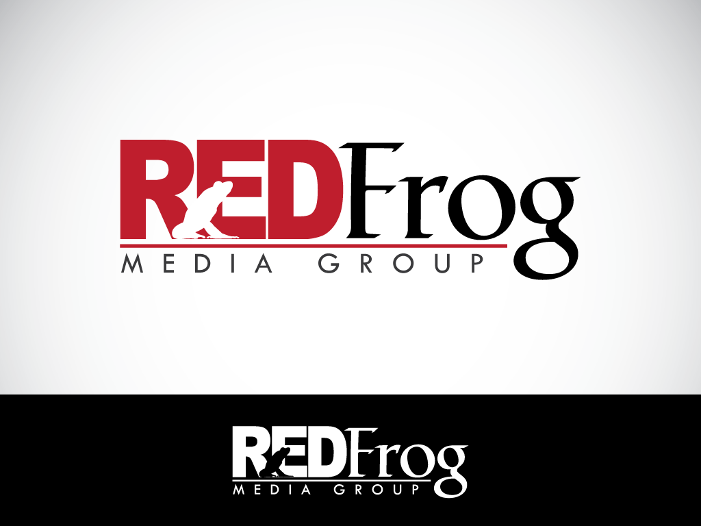 Logo Design by imtan2x - Entry No. 56 in the Logo Design Contest New Logo Design for Red Frog Media Group.