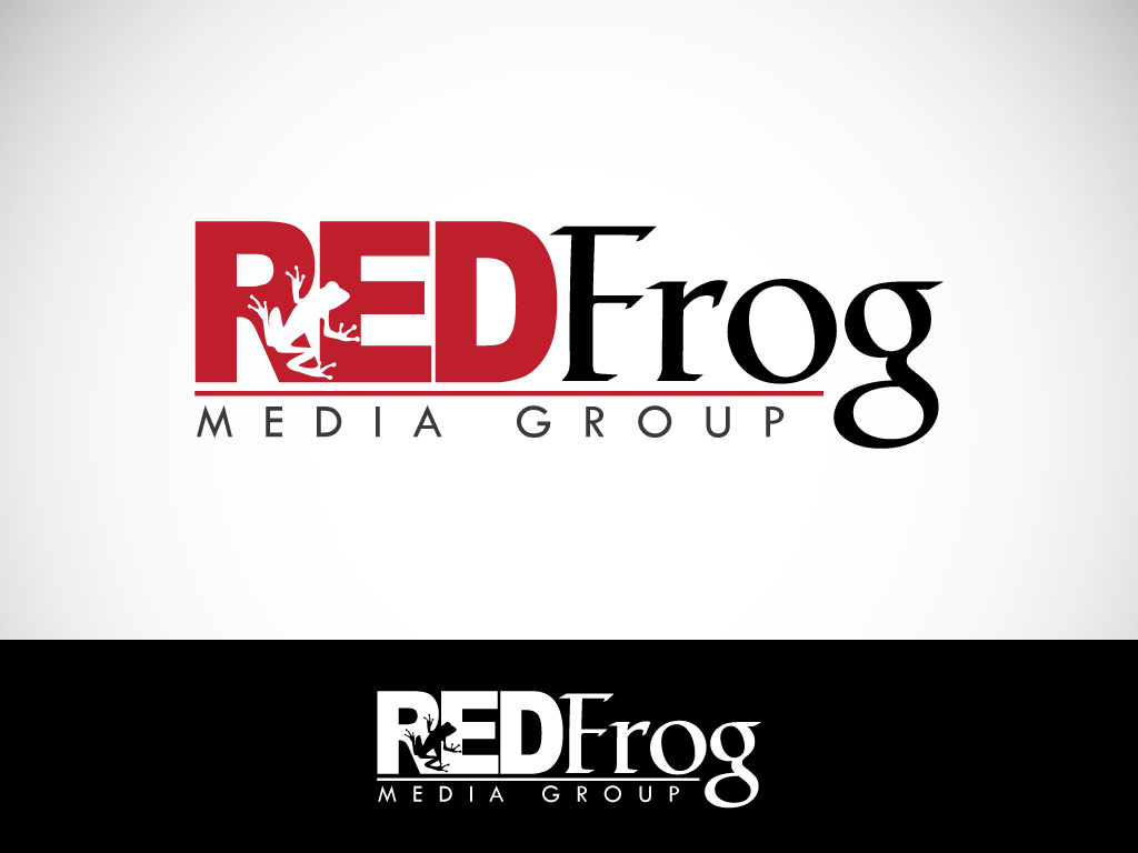 Logo Design by imtan2x - Entry No. 57 in the Logo Design Contest New Logo Design for Red Frog Media Group.