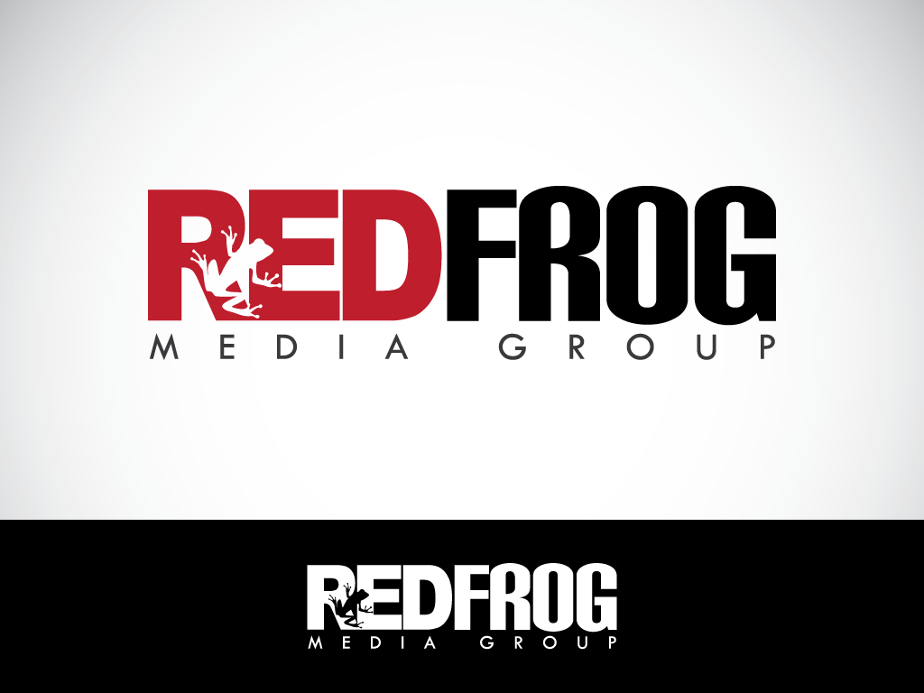 Logo Design by imtan2x - Entry No. 59 in the Logo Design Contest New Logo Design for Red Frog Media Group.