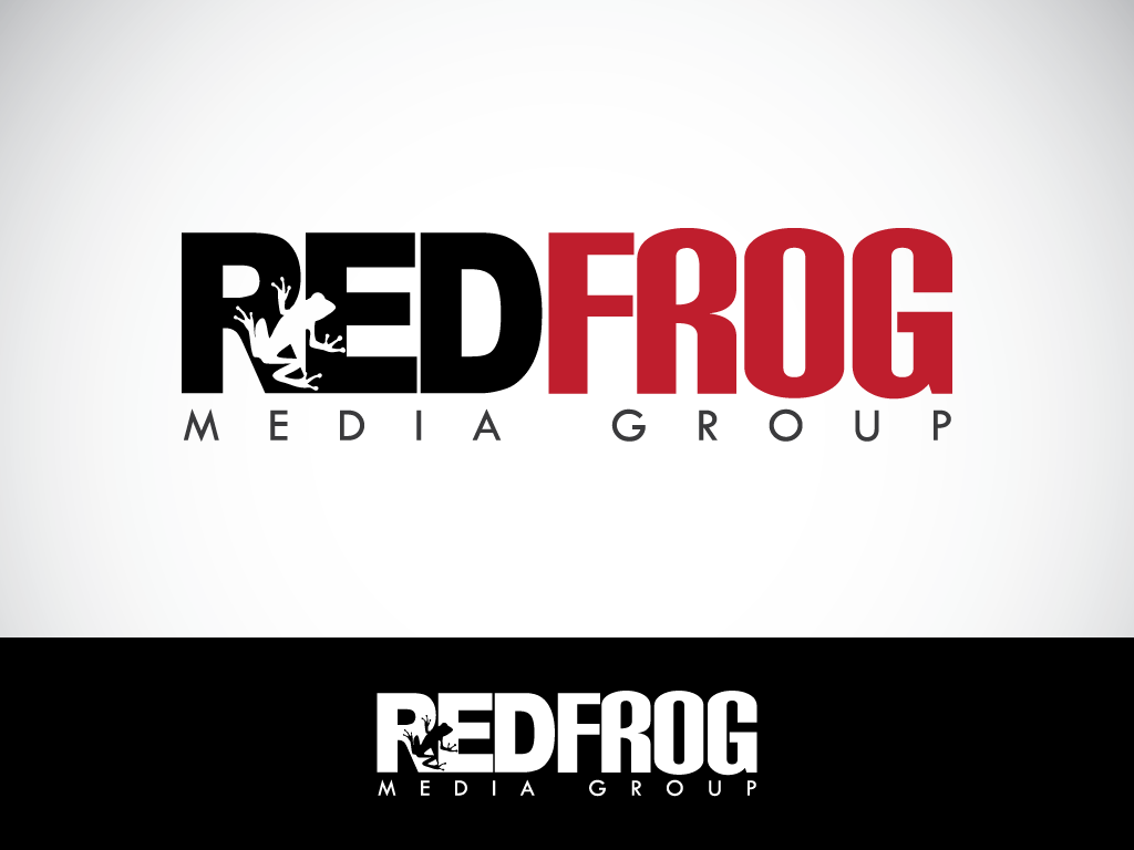 Logo Design by imtan2x - Entry No. 60 in the Logo Design Contest New Logo Design for Red Frog Media Group.