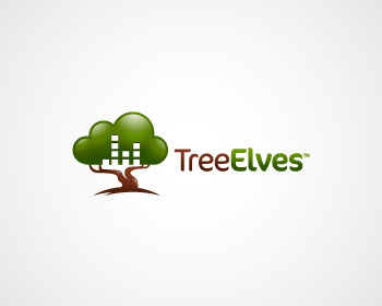 Logo Design by Immo0~ - Entry No. 12 in the Logo Design Contest New Logo Design for Tree Elves.