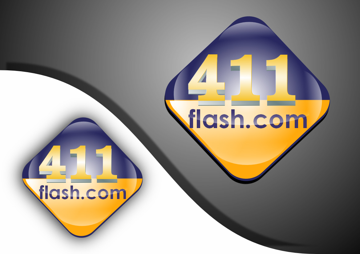 Logo Design by Heri Susanto - Entry No. 71 in the Logo Design Contest 411Flash Logo Design.