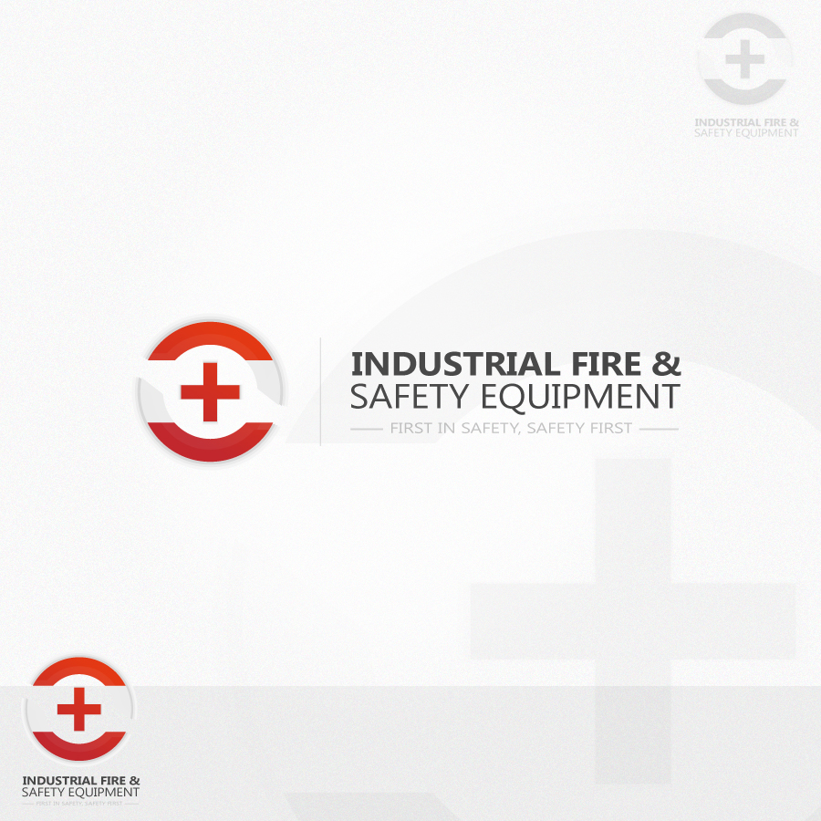 Logo Design by rockpinoy - Entry No. 416 in the Logo Design Contest New Logo Design for Industrial Fire and Safety Equipment, Inc..