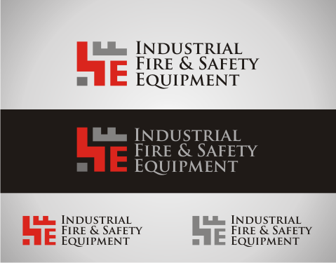 Logo Design by Thernzkie - Entry No. 418 in the Logo Design Contest New Logo Design for Industrial Fire and Safety Equipment, Inc..