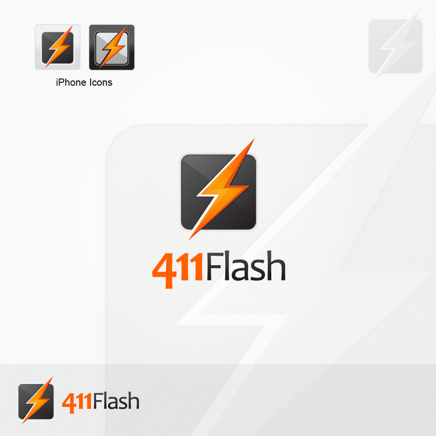 Logo Design by rockpinoy - Entry No. 74 in the Logo Design Contest 411Flash Logo Design.
