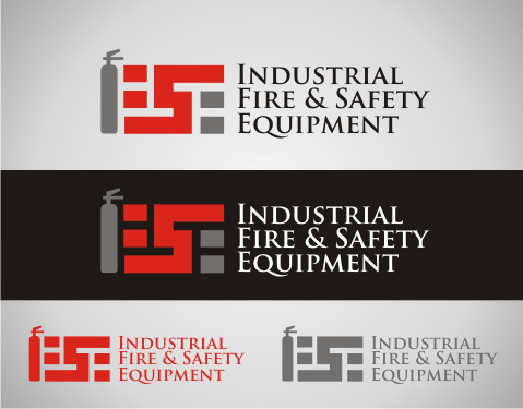 Logo Design by Thernzkie - Entry No. 422 in the Logo Design Contest New Logo Design for Industrial Fire and Safety Equipment, Inc..