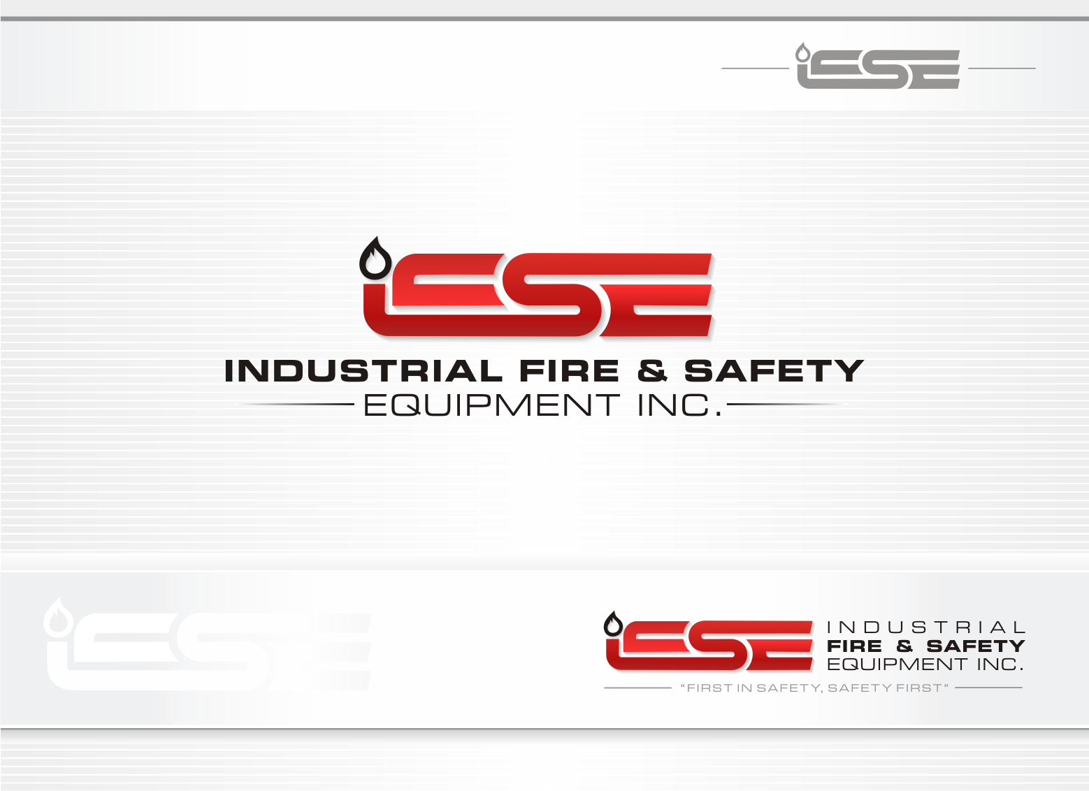 Logo Design by lovag - Entry No. 431 in the Logo Design Contest New Logo Design for Industrial Fire and Safety Equipment, Inc..