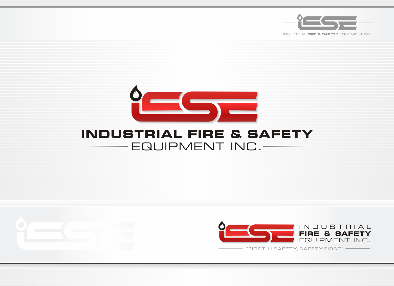 Logo Design by lovag - Entry No. 432 in the Logo Design Contest New Logo Design for Industrial Fire and Safety Equipment, Inc..