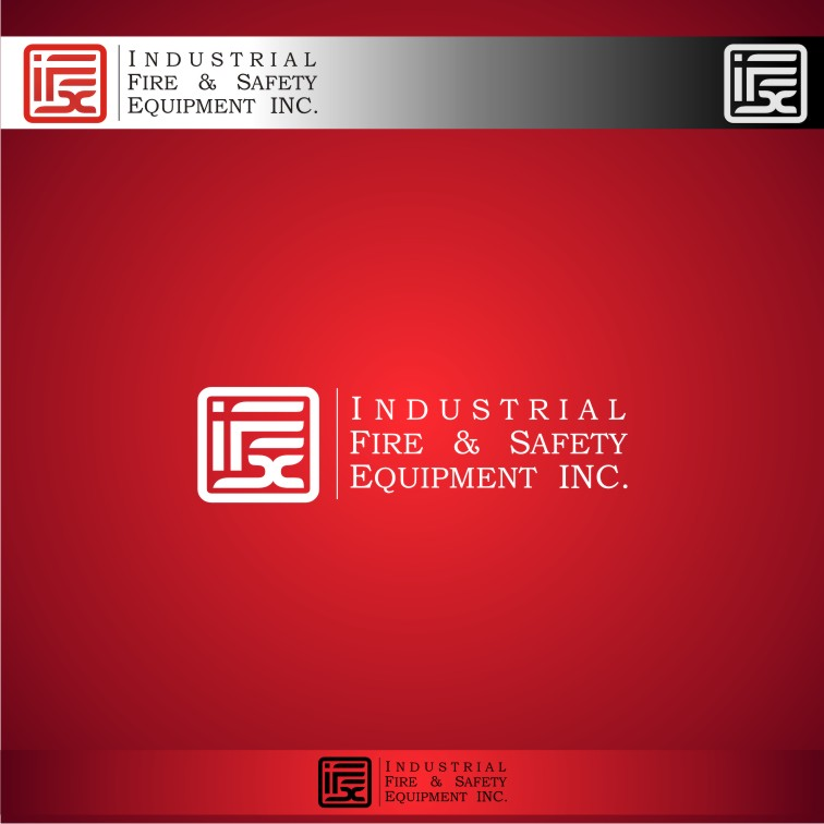 Logo Design by graphicleaf - Entry No. 443 in the Logo Design Contest New Logo Design for Industrial Fire and Safety Equipment, Inc..