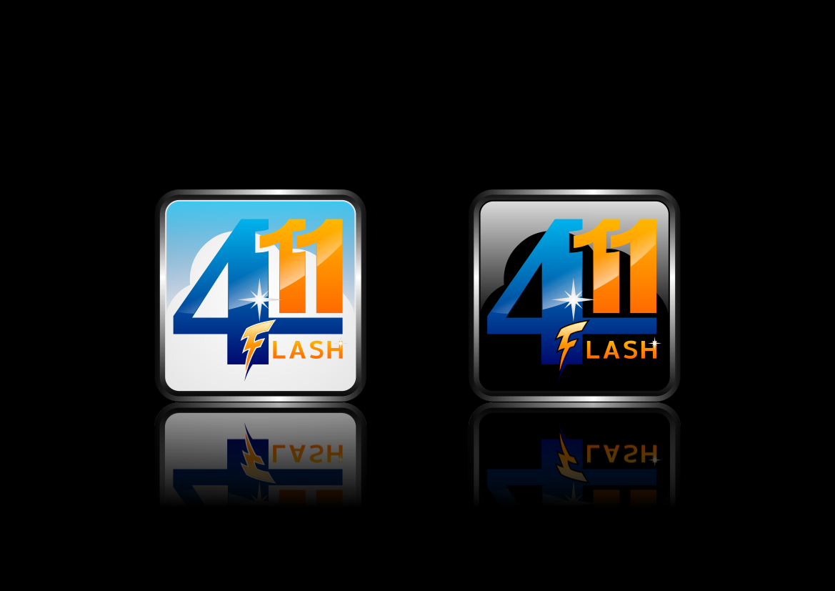 Logo Design by lucifer - Entry No. 84 in the Logo Design Contest 411Flash Logo Design.