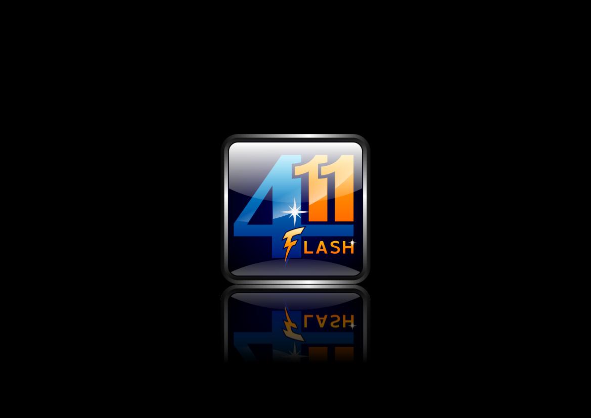 Logo Design by lucifer - Entry No. 85 in the Logo Design Contest 411Flash Logo Design.