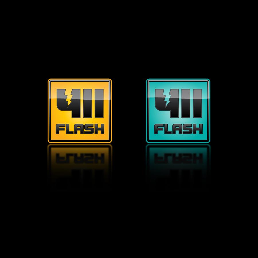Logo Design by trav - Entry No. 97 in the Logo Design Contest 411Flash Logo Design.