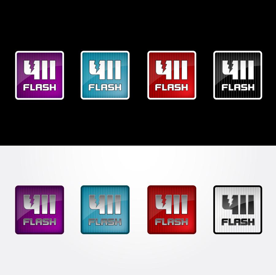 Logo Design by trav - Entry No. 98 in the Logo Design Contest 411Flash Logo Design.