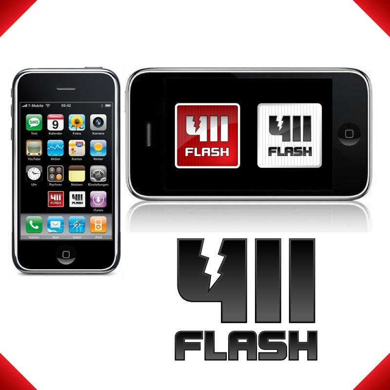 Logo Design by trav - Entry No. 99 in the Logo Design Contest 411Flash Logo Design.