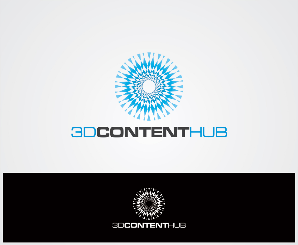 Logo Design by vdhadse - Entry No. 9 in the Logo Design Contest Unique Logo Design Wanted for 3DContentHub (.com).