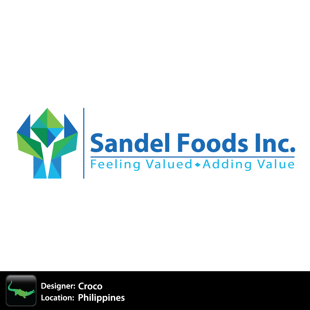 Logo Design by rockin - Entry No. 13 in the Logo Design Contest Fun Logo Design for Sandel Foods Inc.
