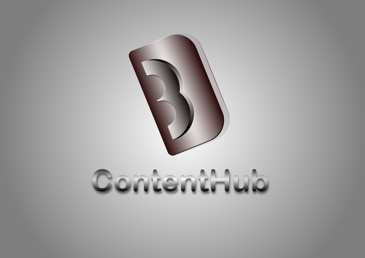 Logo Design by Heri Susanto - Entry No. 18 in the Logo Design Contest Unique Logo Design Wanted for 3DContentHub (.com).